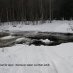 Skoterleden över Norrälven våren 2008