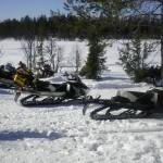 Provkörning Lynx och Ski-Doo