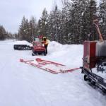 Tankning Byarforsen 20140125