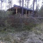 Hittade en stuga i skogen